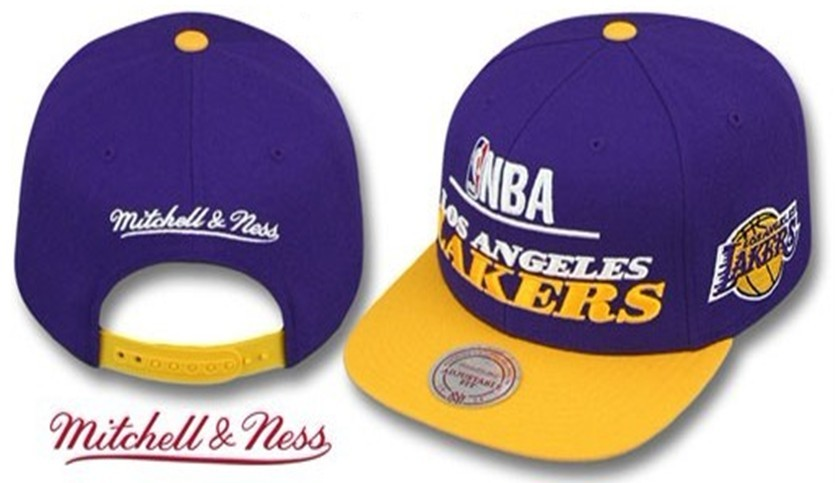 Los Angeles Lakers Snapback Hat LX17